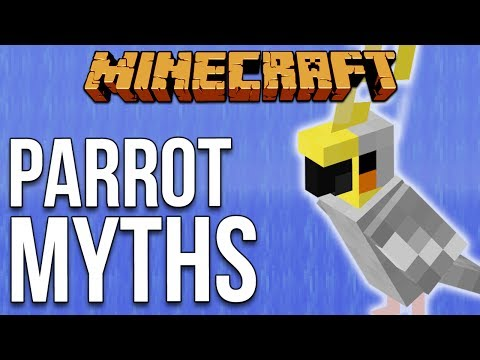 Minecraft 1.12 Parrot Myths [Minecraft Myth Busting 107]