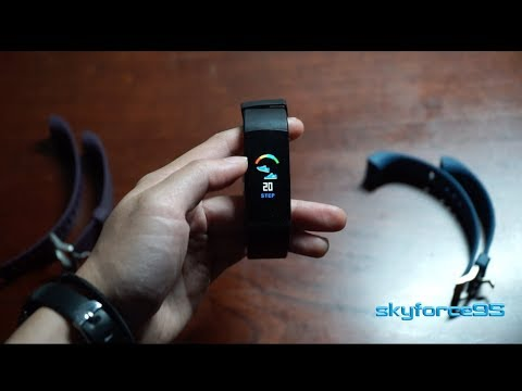 Loping Fitness Tracker Unboxing