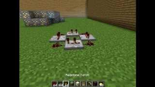 Minecraft Redstone - Repeater yapımı.