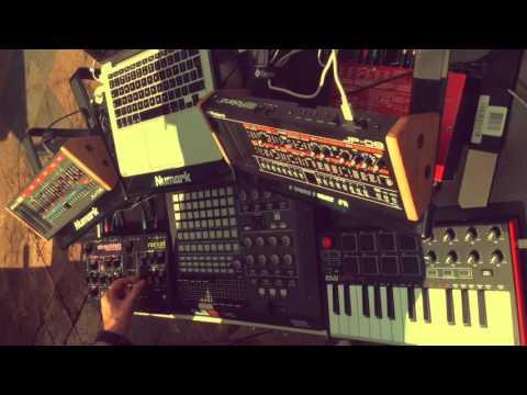 Mr. Fingers Can You Feel It - Boutique JU-06, JP-08, Waldorf Rocket & Streichfett by Rich Lane