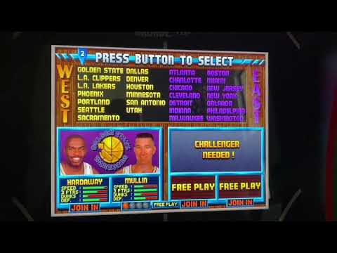 Arcade 1up NBA JAM Full Roster