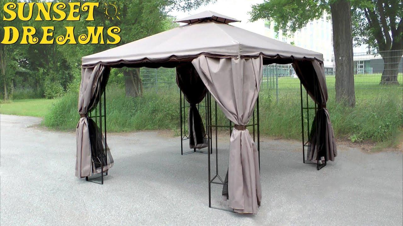 Sunset Dreams Pavillon Aufbau Modell Bali