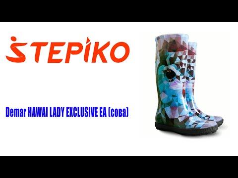 Женские резиновые сапоги Demar HAWAI LADY EXCLUSIVE EA (сова)