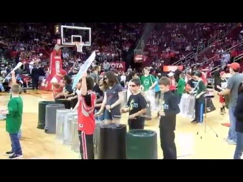 Houston Rockect Halftime Courtside View - Mitchell Intermediate & LTD
