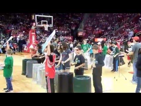 Houston Rockect Halftime Courtside View - Mitchell Intermediate & LTD