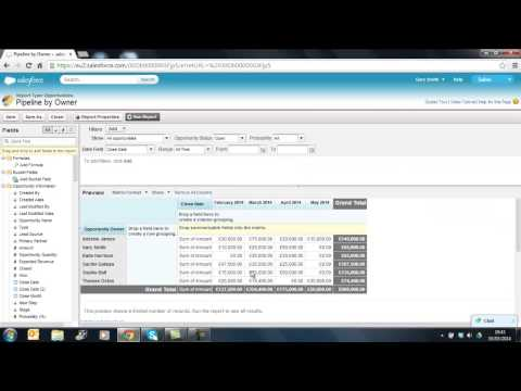 Webinar Part 1. Effective sales pipeline management with salesforce dashobards.