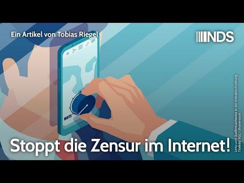 Stoppt die Zensur im Internet