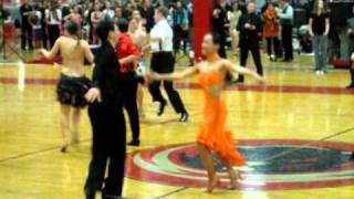 2011 MIT Open Ballroom Dance Competition Intermediate Jive Semi