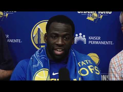 "Draymond Green: ""I don't know how serious the Rockets take defense"""