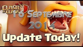 MISE À JOUR / MARDI 16 SEPTEMBRE 2014 - Clash Of Clans
