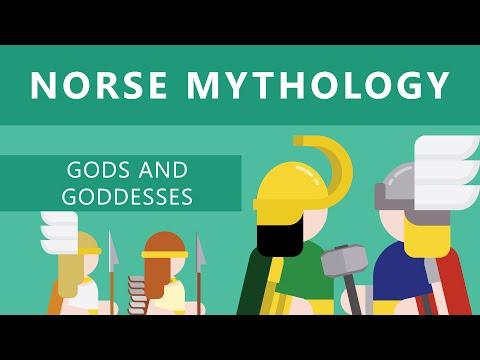 VIKINGS: Norse Mythology - II: Norse Gods & Goddesses [Thor, Loki, Odin and more]