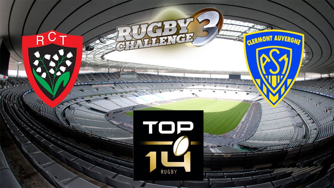 top 14 final clermont vs toulon rugby challenge 3 youtube. Black Bedroom Furniture Sets. Home Design Ideas