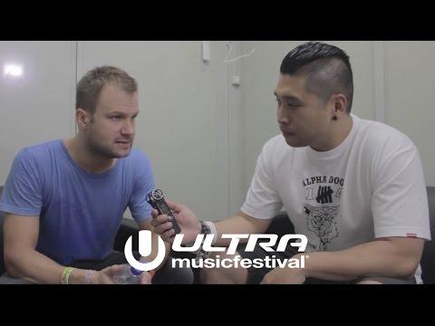 "ULTRA JAPAN 2015 ""Dash Berlin"" Interview"