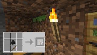 Tocha no minecraft nunca mais, acabou a escuridão