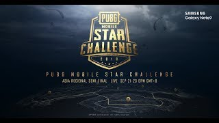 PMSC Asia Semi-Finals Day 2 [HINDI] |Galaxy Note9 PUBG MOBILE STAR CHALLENGE- Asia Semi-Final Day 2