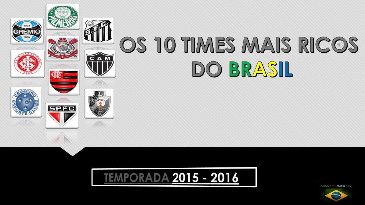 OS 10 TIMES MAIS RICOS DO BRASIL ( 2016 ) - YouTube 3240e1c599764
