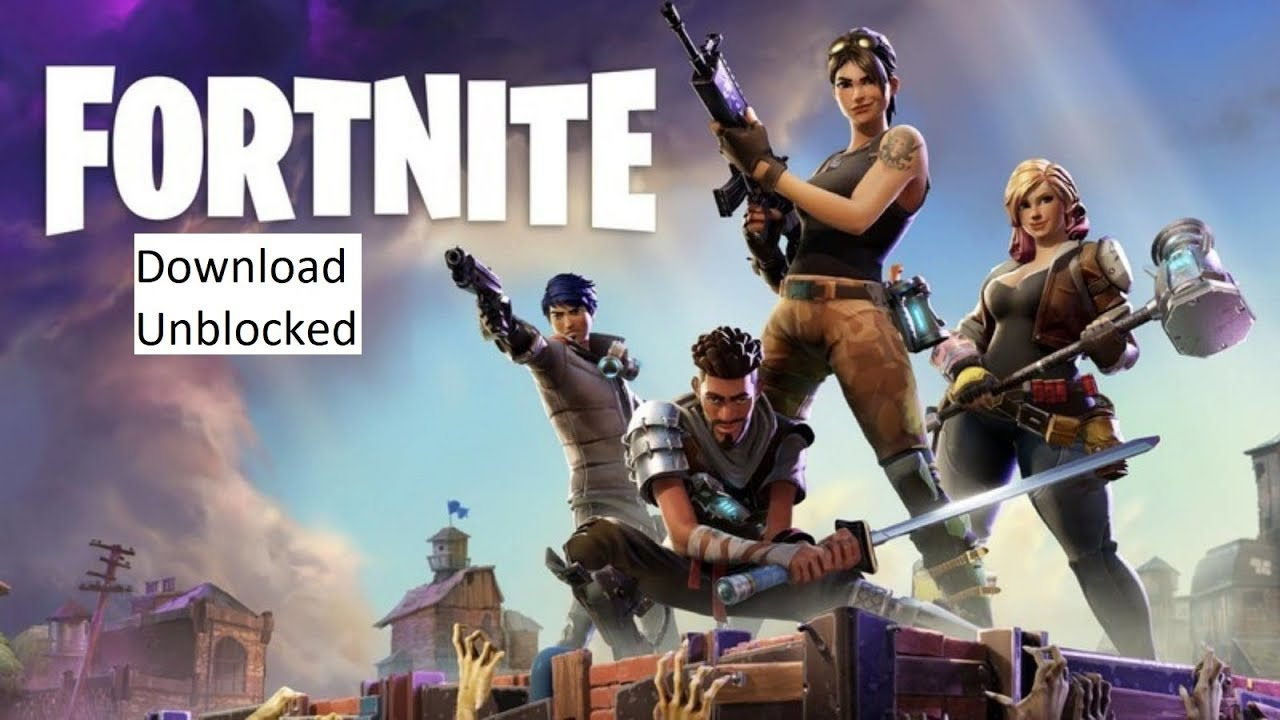 fortnite download free unblocked at school