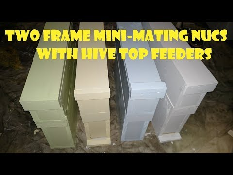 Adventures in Beekeeping: Two Frame Mini-Mating Nuc Build