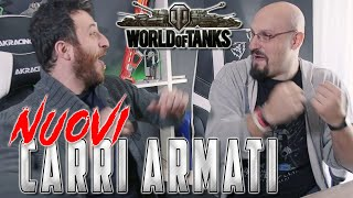 NUOVI CARRI ARMATI SU WORLD OF TANK