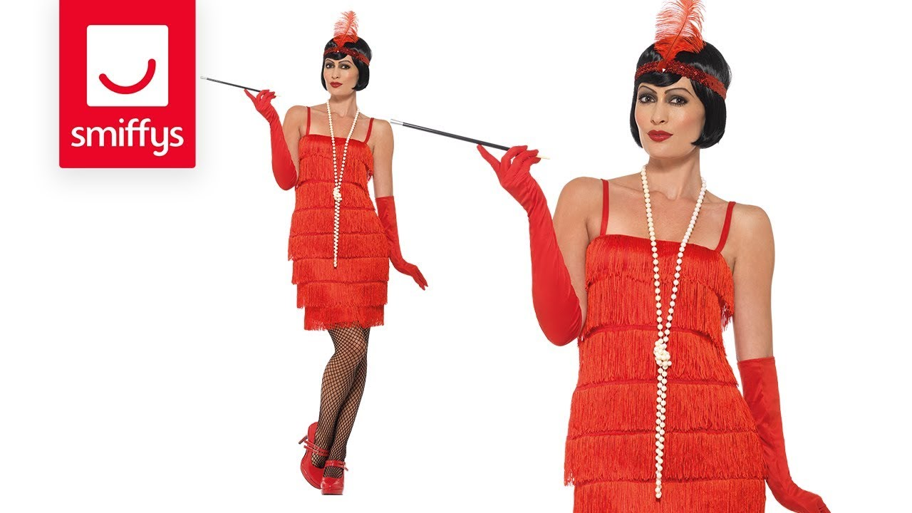 1f348669fe84 Flapper Costume - YouTube