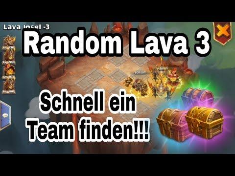 Castle Clash - Random Lava 3 - So Findet Man Schnell Ein Team - [ja©kAss]