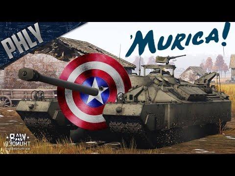 SHIELD OF AMERICA - T-95 Super Heavy Tank (War Thunder Tank Gameplay)