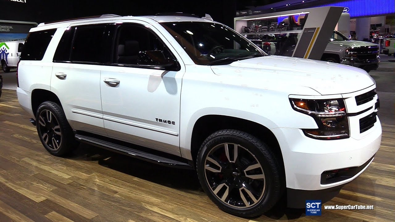 2018 Chevrolet Tahoe Premier - Exterior and Interior ...
