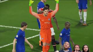 Download Video PES 2018 Full HD 1080p PC Manchester United vs Chelsea - Anak Kecil Seru Banget Main Game Bola MP3 3GP MP4
