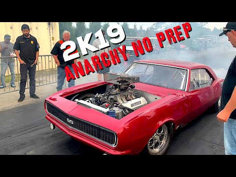 2019 Anarchy No Prep Racing In Chicago Highlights w Boost12