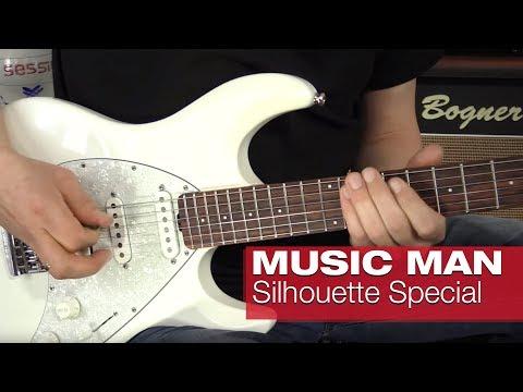 Music Man Silhouette Special MN PB & RW WP