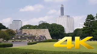 Imperial Palace East Gardens Part 2 - Tokyo - 皇居東御苑 - 4K Ultra HD