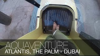 INSANE WATER PARK!!! | Aquaventure, The Palm, Dubai