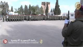 زيارة مدرسة تكوين رقباء الجيش الوطني بسوسة