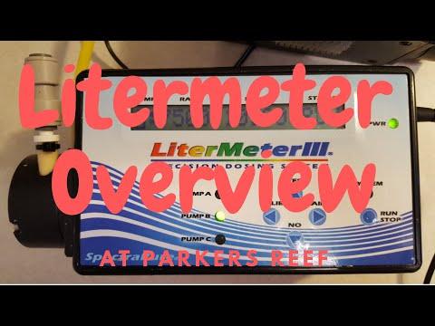 Litermeter setup at Parker's reef