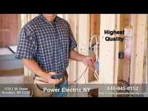 Electrician, Electrical New York, NY Electric, Power Electric NY