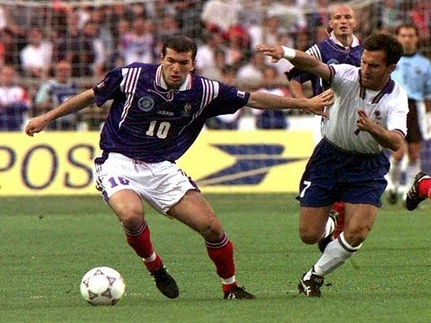 Zidane vs Italy Tournoi De France 1997