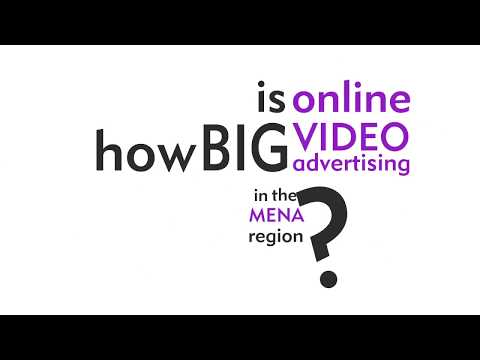 How big is online video advertising in the MENA region? Mp3