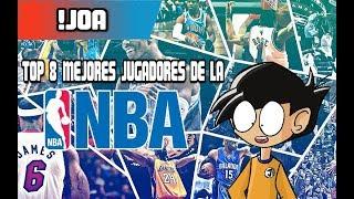 TOP 8 MEJORES JUGADORE DE LA NBA thumbnail