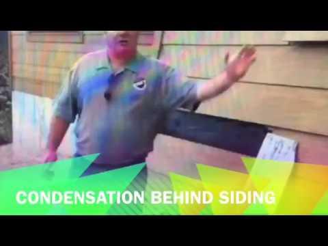 Furring Master Rainscreen Condensation Behind James Hardie Siding Youtube