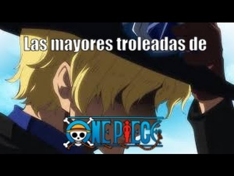 Las troleadas de One Piece y Eiichiro Oda!