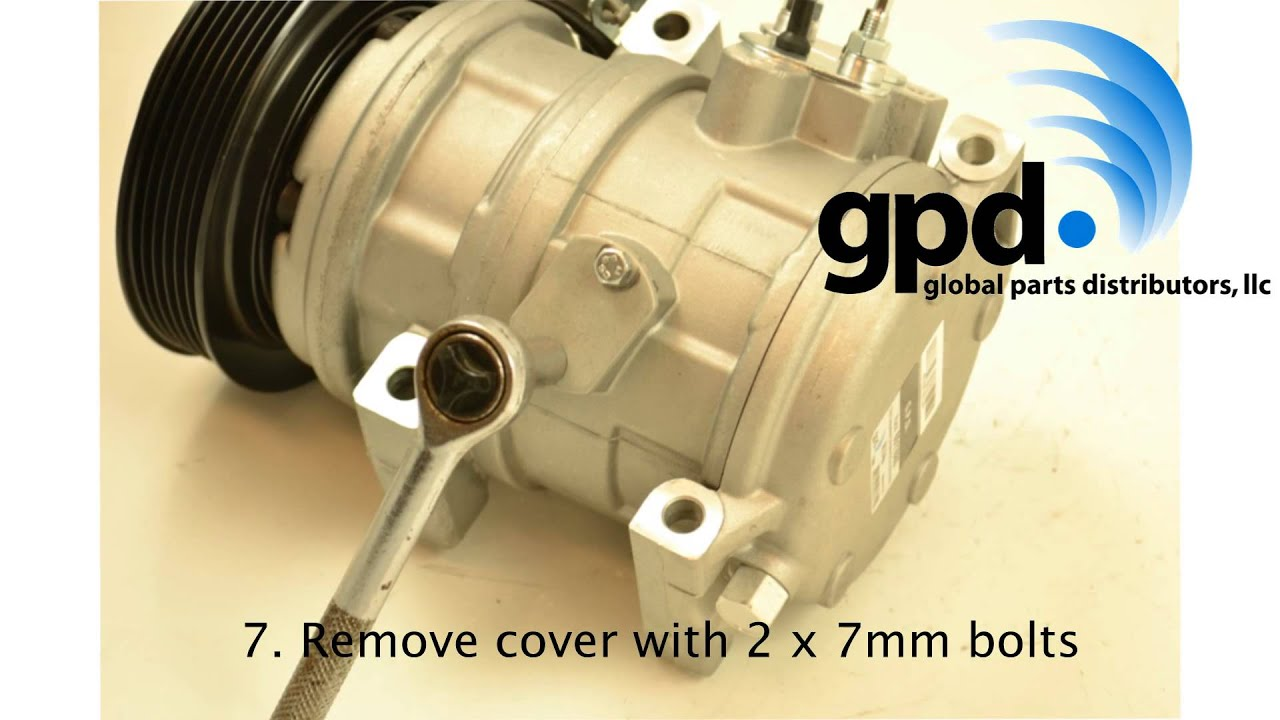 How to Remove and Install a Bottom Speed Sensor Switch on a Compressor:  Global Parts Distributors