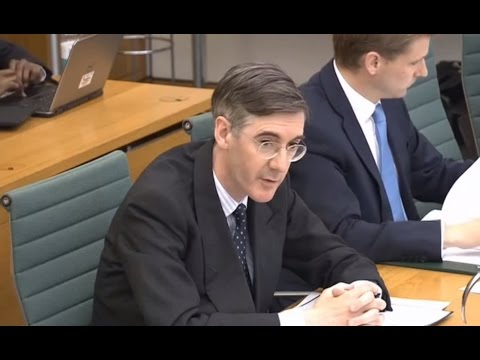 Jacob Rees Mogg MP savages Mark Carney, Governor of the Bank of England over Brexit figures
