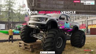 The Crew 2 Monster Trucks + Lifted Cars
