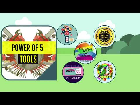 LAZADA Introduction To Power Of 5 Tools New