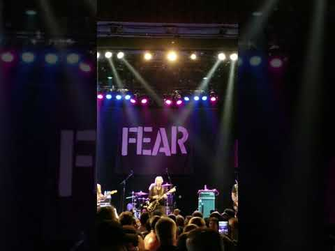 Fear - I Love Livin In The City - Gramercy Theater NYC - 9-21-18
