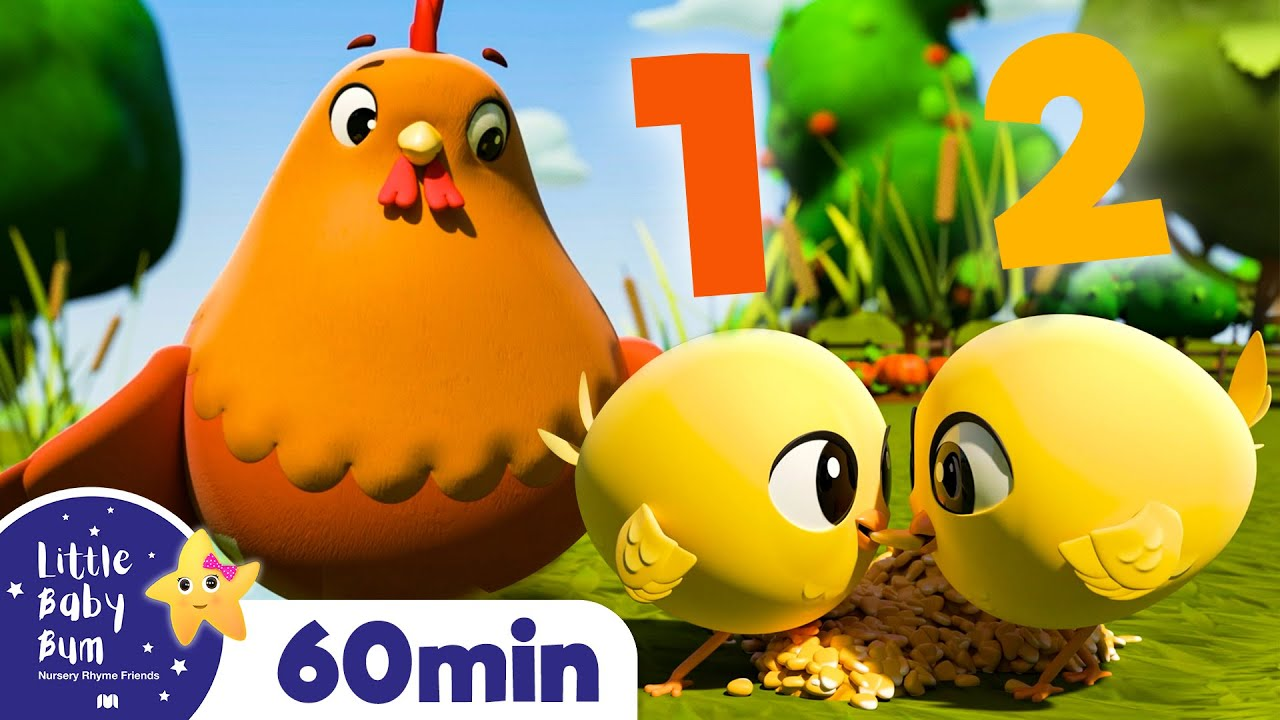 10 Little Chicks and Bunnies - Learn Numbers!