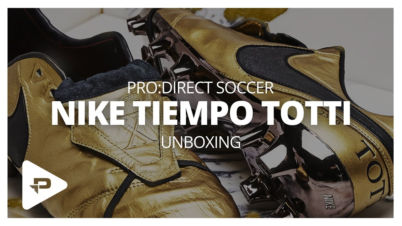 brand new 98d18 4cdd0 Unboxing: Nike Tiempo Legend VI Totti Roma