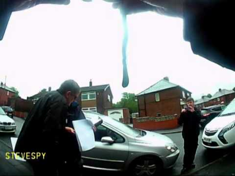 British Gas turn up with warrant to change meter then run away!