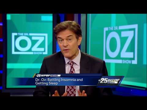 Dr. Oz: Battling Insomnia And Getting Sleep