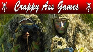 MOST REALISTIC SNIPER GAME IN THE WORLD! | Crappy Ass Games |